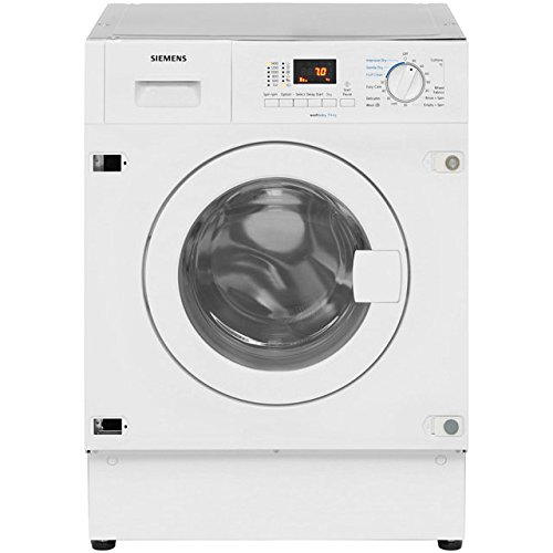 Siemens IQ-300 WK14D321GB Integrated 7Kg / 4Kg Washer Dryer with 1400 rpm. Great For Medium-Sized Households