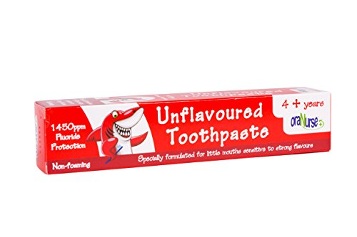 OraNurse Unflavoured Toothpaste 50ml - 4+ Years by Oranurse