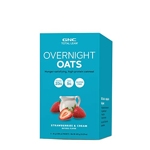 GNC Total Lean Overnight Oats – Strawberries and Cream