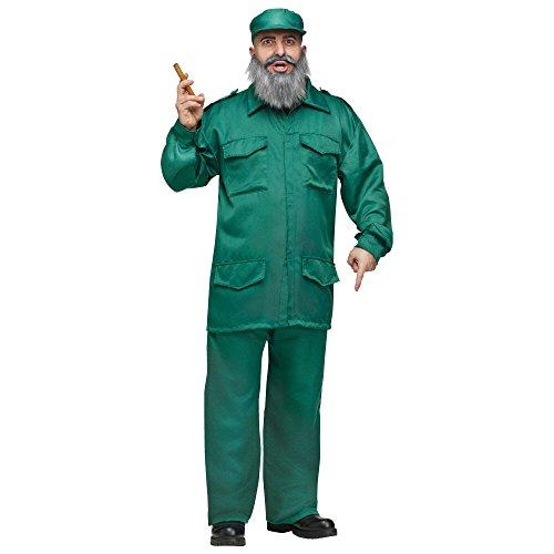 Fidel Costume - Standard - Chest Size 33-45 -