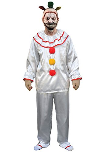 Trick or Treat Studios Men's American Horror Story-Twisty The Clown Costume, Multi, One Size (Trick Or Treat Costumes)