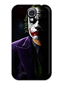 Galaxy S4 Case Cover - Slim Fit Tpu Protector Shock Absorbent Case (the Joker)