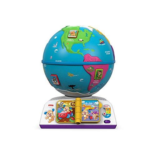 Mattel Fisher Price DRJ80 – Globo terráqueo para aprendizaje (idioma español no garantizado)