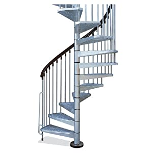 Galvanized Spiral Staircase Kit
