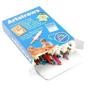 Artstraws - Pack de palillos cortos para manualidades