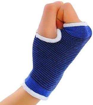 Siddhi Collection Palm Cotton Wrist Glove Hand Grip Support  White
