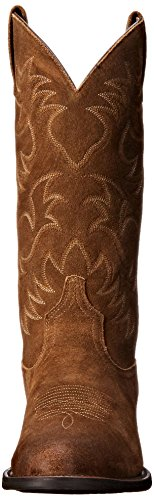 Mocha Boot R Men's Toe Heritage Suede Cowboy Western Ariat Antique wH8RnxnqY