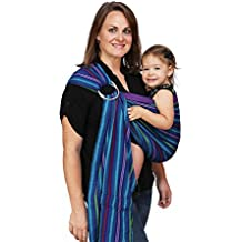 Maya Wrap Lightly Padded Ring Sling Baby Carrier - Berries - Medium