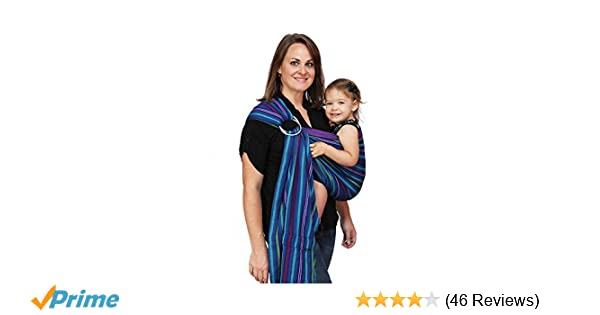 c649f18cc1f Amazon.com   Maya Wrap Lightly Padded Ring Sling Baby Carrier - Berries -  Medium   Child Carrier Slings   Baby