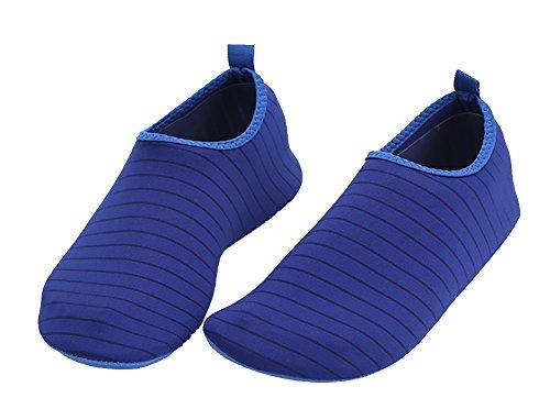 Pour Marche l'eau Conduire Parc Femmes Modèles Chaussures Aqua Boating Plage Rapide ABClothing Nager Séchage Pieds Bleu Hommes Jardin Nus 8 Lac Yoga FTdxnP4