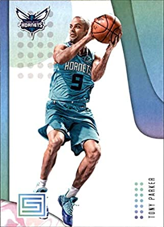 f2ffdad2 2018-19 Panini Status NBA Basketball Card #89 Tony Parker Charlotte Hornets
