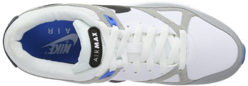 Nike Nike Air Max-Span, Laufschuh Herren Mehrfarbig (White/Black-Wolf Grey-Dark Grey 102)