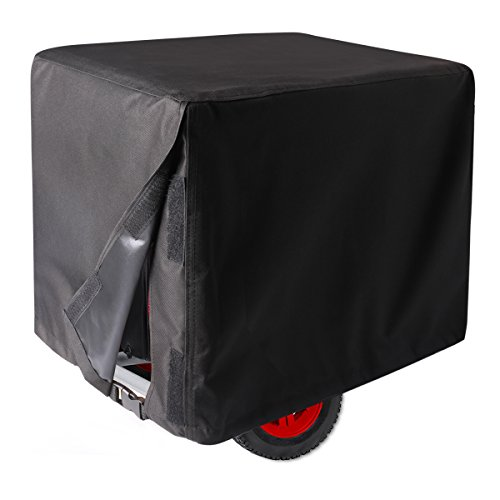Leader Accessories Durable Universal Portable Generator Cover Waterproof Size M, 26'' Lx20 Wx20 H, Black by Leader Accessories