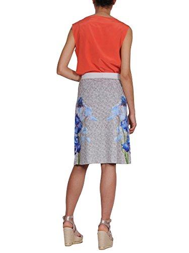 Pme Mujer M08866T1122 Naranja Seda Top