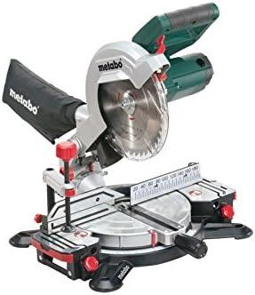 Metabo Ks 216 M 619216000 Scie à Découper Scie à Onglet Ks 216 M Lasercut Fonction Kapp 1350 W Lame De Scie Hm 216 Mm 40 Dents Laser