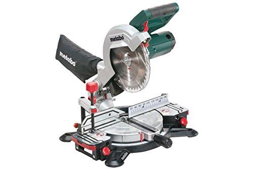 Metabo Kappsäge KS 216 M Lasercut / hochwertige Säge mit leistungsstarkem Motor und Laserstrahl & 2m Kabellänge, für exaktes Sägen