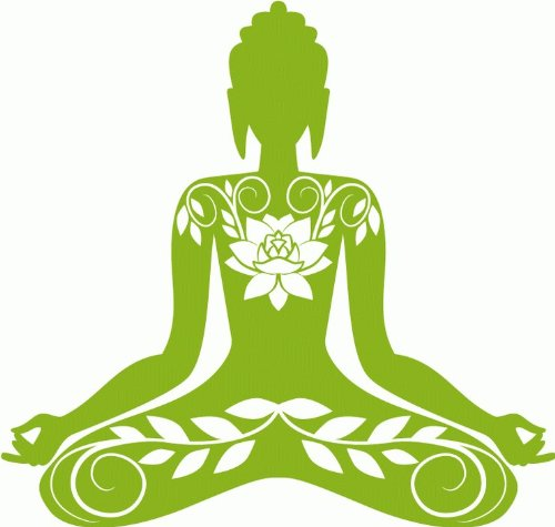 Buddha India Buddhism Car Bumper Sticker Decal 5