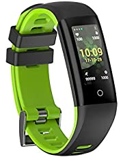 New Fitness Tracker, G16 Bluetooth Smart Bracelet with Sport Mode, Health Tracker Activity Fitness Wristband Pedometer with Heart Rate Monitor for Men Women Kids …