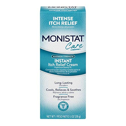 - Monistat Instant Itch Relief Cream Complete Care - 1 Ounce Tube