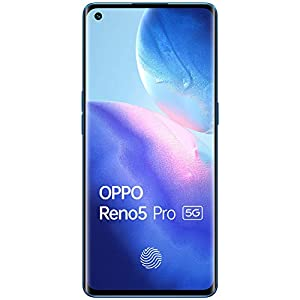OPPO Reno5 Pro 5G (Astral Blue, 8GB RAM, 128GB Storage) with No Cost EMI/Additional Exchange Offers