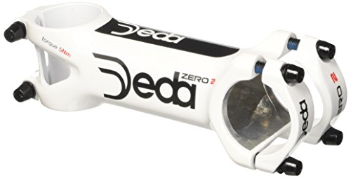 Deda Elementi Zero2 Stem (White Glossy, 31.7 x 100mm) from Deda Elementi