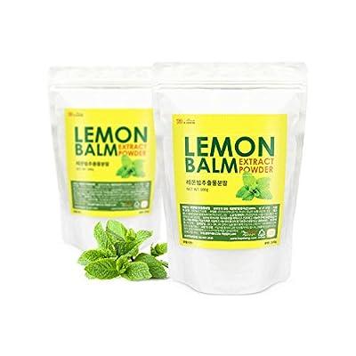 Lemon Balm Extract Powder Natural 100% Health Diet Tea Vitamin C Insomnia Digestion Reduces Anxiety 100g