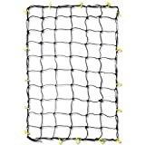 Tooluxe 50969L 36x60-Inch Cargo Net with 16 Adjustable Hooks Stretches to 60x90-Inch
