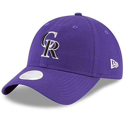 New Era Womens Core Classic Twill Team Color 9TWENTY Adjustable Hat (Colorado Rockies)