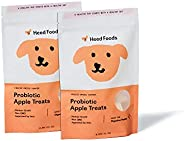 Heed Foods - Freeze-Dried Probiotic Apple Treats 2 Pack | Non-GMO | Single Sourced Apples | Human Grade | Heal