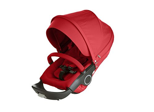 Stokke Stroller Seat Textile Set, Red by Stokke