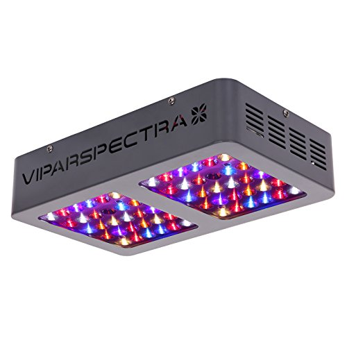 VIPARSPECTRA Reflector-Series V300 300W LED Grow Light Full Spectrum for Indoor Plants Veg and Flower, Have Daisy Chain Function