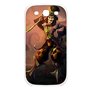 Shaco-003 League of Legends LoL For Case Samsung Galaxy S5 Cover Plastic White