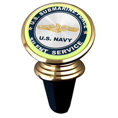 (US Submarine Force Silent Service Gold Dolphins Magnetic Phone Car Mount Luminous Noctilucent Light Phone Holder)