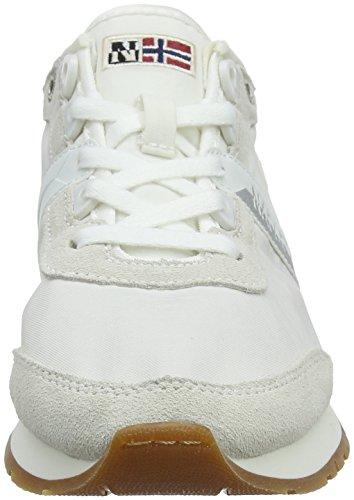 Rabina Off Baskets Weiß White Femme Napapijri Zqdwxd