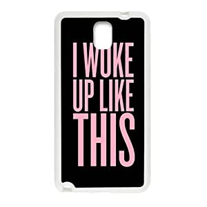 WAGT Pink Simple discourse Cell Phone Case for Samsung Galaxy Note3