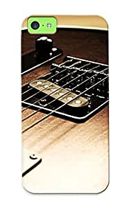 Hnykiw-4486-jrasprj Faddish Guitar Strings Case Cover For Iphone 5c With Design For Christmas Day's Gift