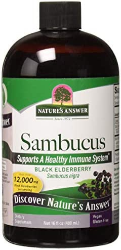 Nature's Answer Sambucus Dietary Supplement