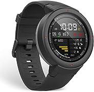 Relógio Cardíaco Xiaomi Amazfit Verge A1811 com GPS/Glonass - Preto/Cinza