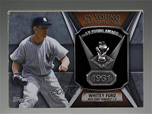 Cy Young Award - Whitey Ford (Baseball Card) 2013 Topps - Cy Young Award Winner Commemorative Relic #CY-WF