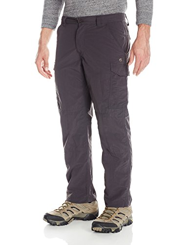 Craghoppers Men's Kiwi Trek Trousers (Short), Black Pepper, 38-Inch by Craghoppers