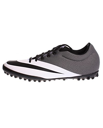 Nike MercurialX Pro TF Mens Football Boots 725245 Soccer Cleats (US 10, white black 100)