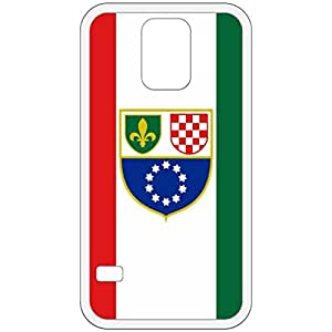 Bosniac Croat Federation Flag White Samsung Galaxy S5 Cell Phone Case - Cover wangjiang maoyi