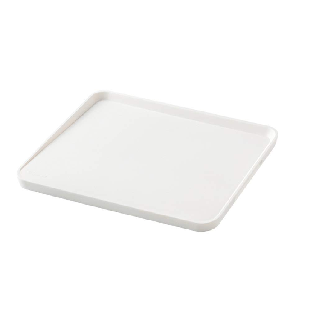 Family Plastic Cutting Boards|Polyethylene Material|Non-slip Feet And Deep Water Drops|Multi-functional Vegetables And Fruits (M/L) (Size : L)