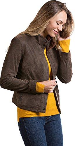 Distressed Italian Leather Jacket - 4