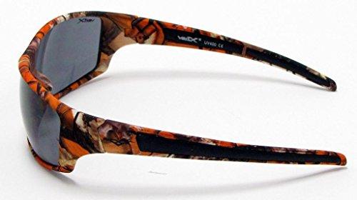 Marron VertX Camouflage soleil blanc chasse Smoke extérieur de Orange pêche Orange Camo Lunettes Lens Camouflage xITvqIp