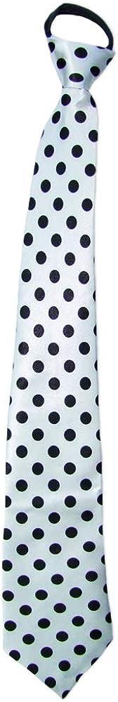 Polka Dot Fifties Krawatte mit Punkten Toll zum 50er 60er Jahre Retro Kost/üm