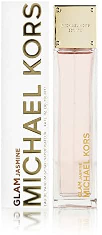 Michael Kors Glam Jasmine Eau de Parfum Spray for Women, 3.4 Ounce