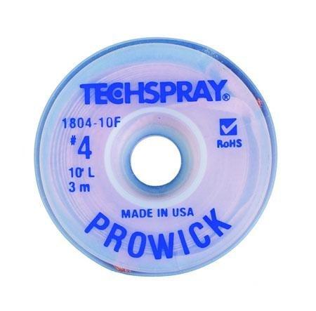 Pro-Wick Desoldering Braid - .098 x 10 Blue by Tech Spray