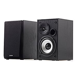 Edifier R980T 4″ Active Bookshelf Speakers – 2.0 Computer Speaker – Powered Studio Monitor (Pair)