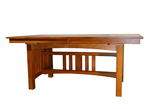 Grand Canyon Collection GC-TA491 Oak Mission Solid Table, brown (Mission Table Oak Cherry)